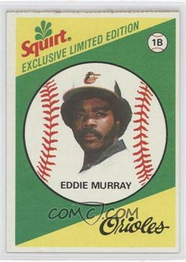 1981 Topps Squirt Exclusive Limited Edition Food Issue [Base] #15 - Eddie Murray