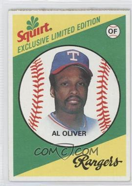 1981 Topps Squirt Exclusive Limited Edition Food Issue [Base] #22 - Al Oliver