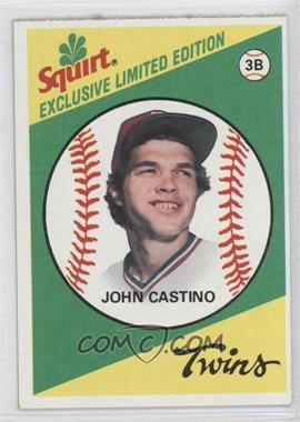 1981 Topps Squirt Exclusive Limited Edition Food Issue [Base] #29 - John Castino