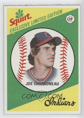 1981 Topps Squirt Exclusive Limited Edition Food Issue [Base] #32 - Joe Charboneau