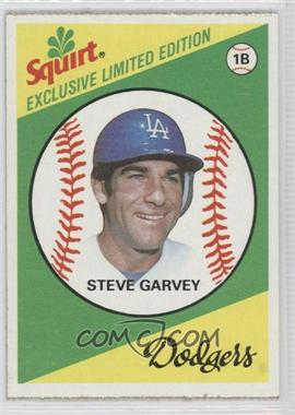 1981 Topps Squirt Exclusive Limited Edition Food Issue [Base] #4 - Steve Garvey