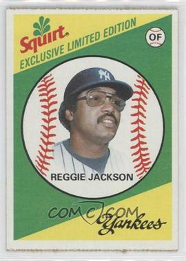 1981 Topps Squirt Exclusive Limited Edition Food Issue [Base] #5 - Reggie Jackson