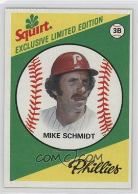 1981 Topps Squirt Exclusive Limited Edition Food Issue [Base] #8 - Mike Schmidt