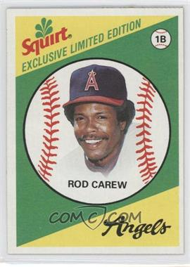 1981 Topps Squirt Exclusive Limited Edition Food Issue [Base] #9 - Rod Carew