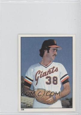 1981 Topps Stickers - [Base] #238 - Greg Minton