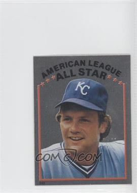 1981 Topps Stickers - [Base] #243 - George Brett