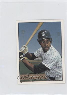 1981 Topps Stickers #108 - Willie Randolph