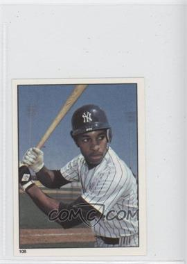 1981 Topps Stickers #108 - Willie Randolph