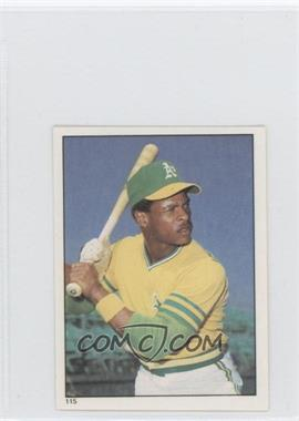 1981 Topps Stickers #115 - Rickey Henderson