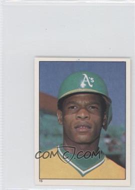 1981 Topps Stickers #15 - Rickey Henderson