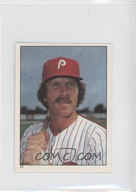 1981 Topps Stickers #21 - Mike Schmidt