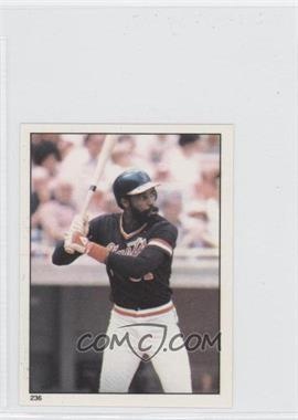 1981 Topps Stickers #236 - Larry Herndon