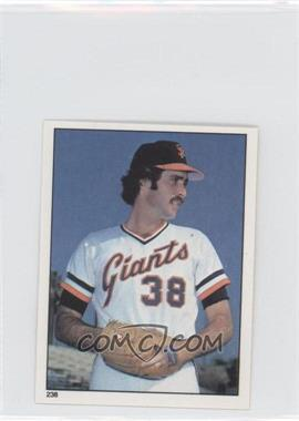 1981 Topps Stickers #238 - Greg Minton