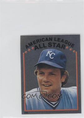 1981 Topps Stickers #243 - George Brett