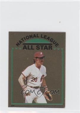 1981 Topps Stickers #254 - Mike Schmidt