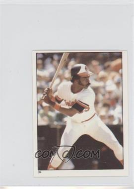 1981 Topps Stickers #34 - Eddie Murray