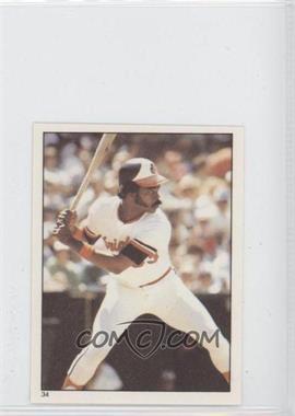 1981 Topps Stickers #34 - Eddie Murray
