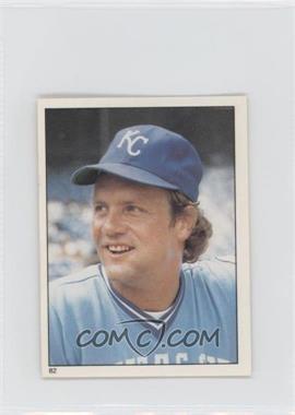 1981 Topps Stickers #82 - George Brett