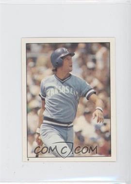 1981 Topps Stickers #9 - George Brett