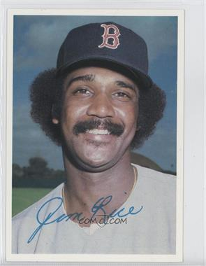 1981 Topps Super National #N/A - Jim Rice