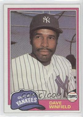 1981 Topps Traded - [Base] #855 - Dave Winfield
