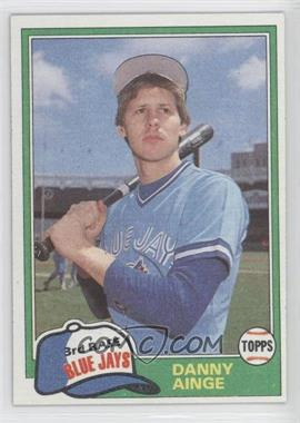 1981 Topps Traded #727 - Danny Ainge