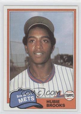 1981 Topps Traded #742 - Hubie Brooks
