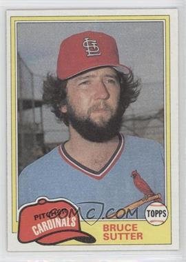 1981 Topps Traded #838 - Bruce Sutter