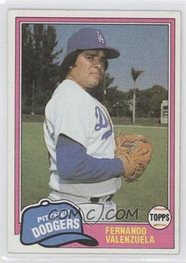1981 Topps Traded #850 - Fernando Valenzuela