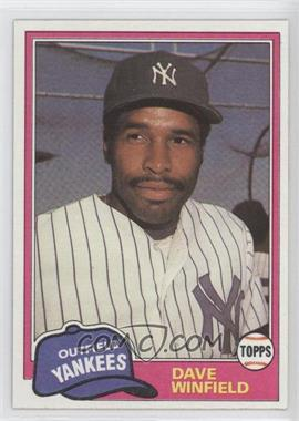 1981 Topps Traded #855 - Dave Winfield