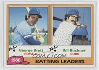 George Brett, Bill Buckner