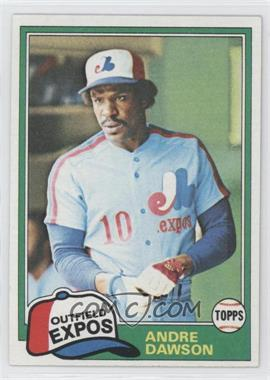 1981 Topps #125 - Andre Dawson