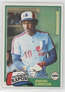 1981 Topps #125 - Andre Dawson