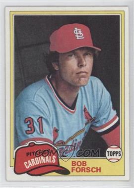 1981 Topps #140 - Bob Forsch