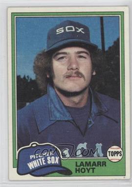 1981 Topps #164 - LaMarr Hoyt
