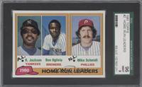 Home Run Leaders (Reggie Jackson, Ben Oglivie, Mike Schmidt) [SGC96]