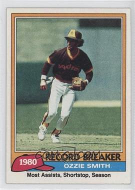 1981 Topps #207 - Ozzie Smith