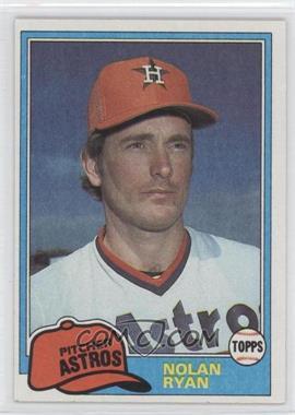 1981 Topps #240 - Nolan Ryan
