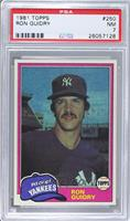Ron Guidry [PSA 7]