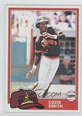 1981 Topps #254 - Ozzie Smith