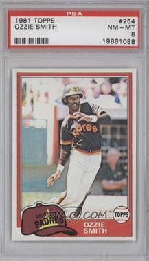 1981 Topps #254 - Ozzie Smith [PSA8]