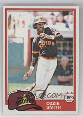 1981 Topps #254 - Ozzie Smith