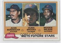 Juan Berenguer, Hubie Brooks, Mookie Wilson