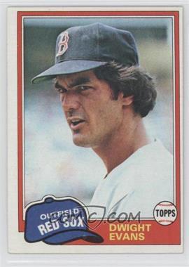 1981 Topps #275 - Dwight Evans