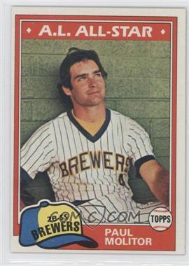 1981 Topps #300 - Paul Molitor