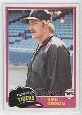1981 Topps #315 - Kirk Gibson