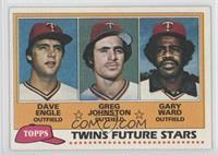 Dave Engle, Greg Johnston, Gary Ward