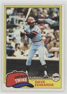 1981 Topps #386 - Dave Edwards