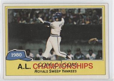 1981 Topps #401 - George Brett