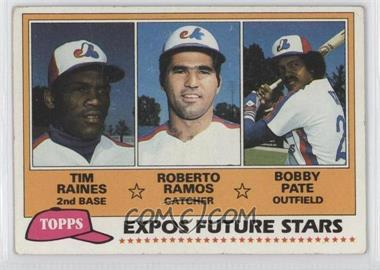 1981 Topps #479 - Tim Raines [Good to VG‑EX]